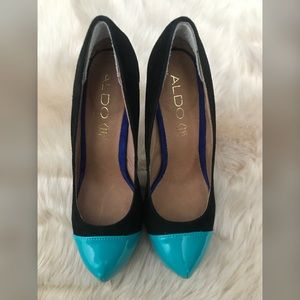 New ALDO Black and Blue Heels!